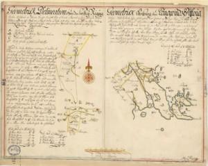 Karta från 1703